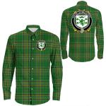 1stIreland Ireland Shirt - House of MACGARRY Irish Crest Long Sleeve Button Shirt A7