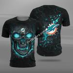 Miami Dolphins Skull FFS8809