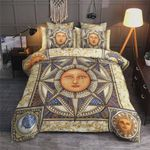 Sun And Moon Bedding Set Cotton Bed Sheets Spread Comforter Duvet Cover Bedding Sets