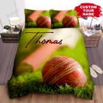Personalized Cricket Ball Marco Photograph Bed Sheets Spread Comforter Duvet Cover Bedding Sets