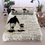 Personalized To My Daughter From Dad I See The Difference You Make Cotton Bed Sheets Spread Comforter Duvet Cover Bedding Sets