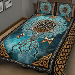 Viking Tree Of Life Quilt Bed Set