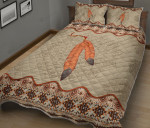 Native American Feather Quilt Bed Sheets Spread Duvet Cover Bedding Sets