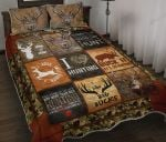 Deer Hunting I Like Big Bucks Quilt Bedding Set
