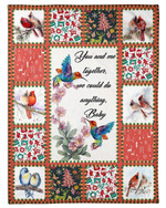 Birds Couple We Could Do Anything Blanket For Lovers Sherpa Fleece Blanket Great Customized Blanket Gifts For Birthday Christmas Thanksgiving