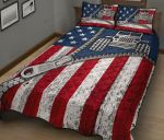 American Flag Zip Jeep Quilt Bed Sheets Spread Comforter Duvet Cover Bedding Sets