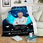 Personalized Custom Photo Memorial Blanket Daddy'S Girl Blanket Gift Dad From Daughter Son Birthday Christmas Thanksgiving Happy Father'S Day Fleece Blanket Sherpa Blanket