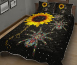 Spider You Are My Sunshine Quilt Bed Set
