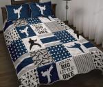 Dream Big Little One Karate Quilt Bed Set