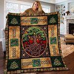 Tree Of Life Blankets Fleece Blanket/Sherpa Blanket/Woven Blanket Tree Of Life Blankets