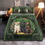 Labrador Irish Pattern Quilt Bedding Set