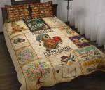 Love Book Quilt Bedding Set