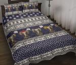 Elephant Tribal Decorative Pattern Quilt Bedding Set