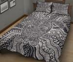Turtle Monochrome Quilt Bed Set