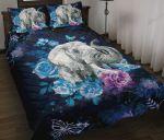 Elephant Rose Beautiful Quilt Bedding Set