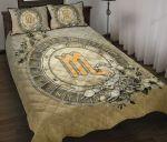 Scorpio Zodiac Wiccan Quilt Bed Set