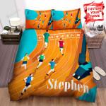 Athletics Vinyl Music Box Bed Sheets Spread Comforter Duvet Cover Bedding Sets