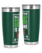 Paraprofessional - Christmas Stainless Steel Tumbler, Tumbler Cups For Coffee/Tea