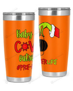 Pre-K Teacher, Baby Covid Outside Stainless Steel Tumbler, Tumbler Cups For Coffee/Tea