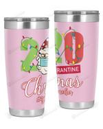 1st Grade Teacher, 2020 Quarantine Christmas Stainless Steel Tumbler, Tumbler Cups For Coffee/Tea