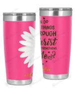 1st Grade Teacher, I Can Do All Things Stainless Steel Tumbler, Tumbler Cups For Coffee/Tea
