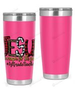 1st Grade Teacher, Jesus Is The Reason For The Season Stainless Steel Tumbler, Tumbler Cups For Coffee/Tea