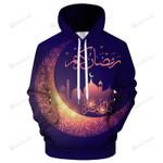Ramadan Moon 3D All Over Print Hoodie, Zip-up Hoodie