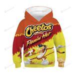 Cheetos 3D All Over Print Hoodie, Zip-up Hoodie