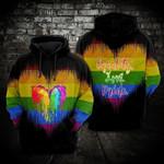 LGBT Dragon Equality Love 3D All Over Print Hoodie, Zip-up Hoodie