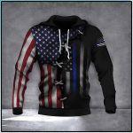 American Flag 3D All Over Print Hoodie, Zip-up Hoodie