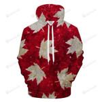 Canadian Pride 3D All Over Print Hoodie, Zip-up Hoodie