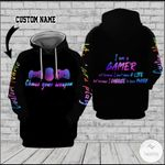 Personalized Game Console Choose Your Weapon, I'm A Gamer 3D All Over Print Hoodie, Zip-up Hoodie