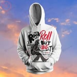 Rock And Roll Culture 3D All Over Print Hoodie, Zip-up Hoodie