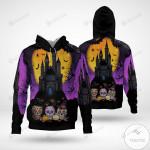 Halloween Sugar Skull 3D All Over Print Hoodie, Zip-up Hoodie