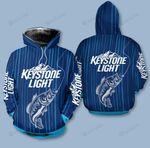Keystone Light 3D All Over Print Hoodie, Zip-up Hoodie