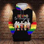 LGBT Be Kind To Everyone 3D All Over Print Hoodie, Zip-up Hoodie