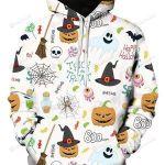 Halloween Trick Or Treat 3D All Over Print Hoodie, Zip-up Hoodie