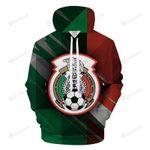 Mexico Soccer Fan 3D All Over Print Hoodie, Zip-up Hoodie