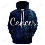 Cancer June 22 To July 22 3D All Over Print Hoodie, Zip-up Hoodie