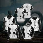 The 100 May We Meet Again In Peace May You Leave The Shore Unisex 3D All Over Print Hoodie, Zip-up Hoodie