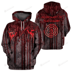 Do You Want To Play A Game 3D All Over Print Hoodie, Zip-up Hoodie