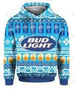 Bud Light Beer 3D All Over Print Hoodie, Zip-up Hoodie