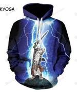 Lightning Thunder 3D All Over Print Hoodie, Zip-up Hoodie