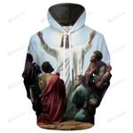 Jesus 3D All Over Print Hoodie, Zip-up Hoodie