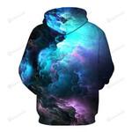 Starry Sky 3D All Over Print Hoodie, Zip-up Hoodie