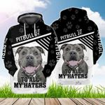 Pit Bull To All My Haters 3D All Over Print Hoodie, Zip-up Hoodie