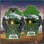 Life Is Simple Eat Sleep Farm 3D All Over Print Hoodie, Zip-up Hoodie