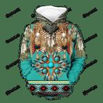 Pattern Mandala Native 3D All Over Print Hoodie, Zip-up Hoodie