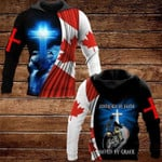 Lion And Cross Justified By Faith Saved By Grace 3D All Over Print Hoodie, Zip-up Hoodie