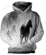 Horse  3D All Over Print Hoodie, Zip-up Hoodie
